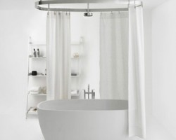 Rèm che bồn tắm giá rẻ tại Hà Tĩnh mã RPT103