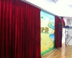 Rèm hội trường tại Hà Tĩnh mã PHT105