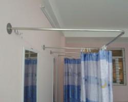 Thanh treo rèm cửa bằng inox mã PKR110