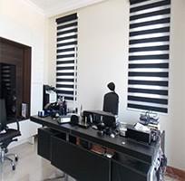 Rèm cầu vồng cho văn phòng tại tỉnh Hà Tĩnh mã RCV109