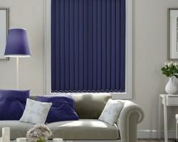 Rèm lá dọc màu tím đẹp sang chảnh tại Hà Tĩnh mã RLD110