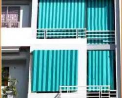 Mành nhựa che nắng ban công tại tỉnh Hà Tĩnh mã RN115