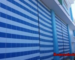 Rèm cửa nhựa giá rẻ tại tỉnh Hà Tĩnh mã RN116