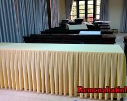 Khăn trải bàn hội nghị đẹp tại Hà Tĩnh mã KTB101