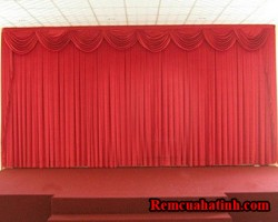 Phông rèm màn hội trường sân khấu Hà Tĩnh mã PHT114