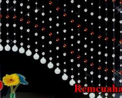 Rèm trang trí bằng pha lê tại tỉnh Hà Tĩnh mã RTT106