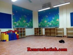 Rèm cuốn tranh ở Hà Tĩnh mã RC127