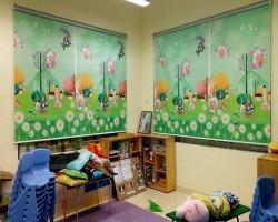 Rèm cuốn tranh trẻ em tại Hà Tĩnh mã RC124