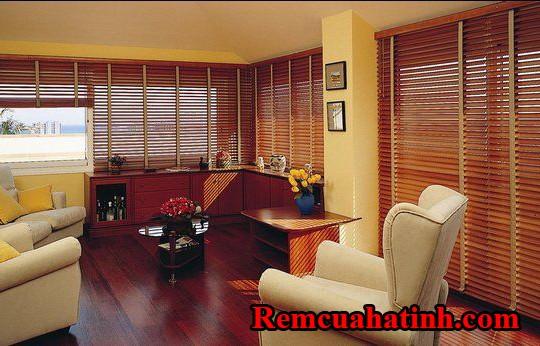 Rèm gỗ sang trọng đẳng cấp tại Hà Tĩnh mã RG128