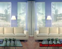 Rèm lá màu trắng tinh khôi ở Hà Tĩnh mã RLD126