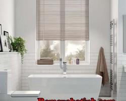 Rèm sáo nhôm cho phòng tắm Hà Tĩnh mã RSN124