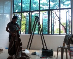 Thi công rèm đường Phan Đình Phùng TP Hà Tĩnh