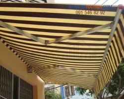 Làm mái hiên di động giá rẻ tại Hà Tĩnh