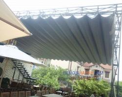 Mái che nhựa lượn sóng hiện đại thông minh tại Hà Tĩnh