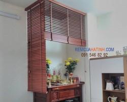 Rèm bàn thờ bằng gỗ tự nhiên tại Hà Tĩnh mã RBT114