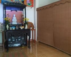Rèm phòng thờ bàn thờ tại Hà Tĩnh mã RBT105