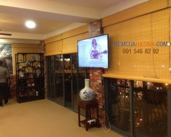 Rèm cửa bằng tre trúc nội ngoại thất tại Hà Tĩnh