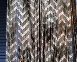 Rèm hạt gỗ trang trí tại Hà Tĩnh mã RTT103