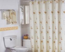 Rèm nhà tắm đẹp giá rẻ mã RPT102