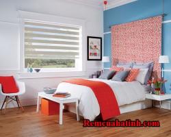 Rèm cầu vồng màu hồng cho phòng ngủ tại tỉnh Hà Tĩnh mã RCV106