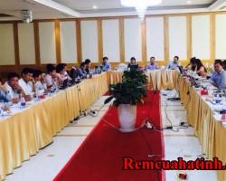 Khăn trải bàn cho phòng họp Hà Tĩnh mã KTB108