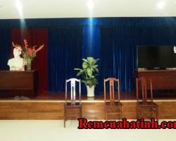 Phông rèm hội trường tại tỉnh Hà Tĩnh mã PHT115
