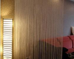 Rèm cửa trang trí bằng rèm sợi tại tỉnh Hà Tĩnh mã RTT107