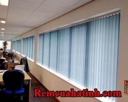Rèm lá dọc màu xanh tại Hà Tĩnh mã RLD113