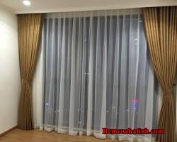 Rèm vải phòng khách đẹp tại Hà Tĩnh mã RV140