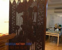 Mành rèm bàn thờ hạt gỗ giá rẻ tại Hà Tĩnh mã RBT112