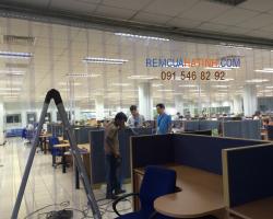 Màn nhựa ngăn lạnh PVC giá rẻ tại Hà Tĩnh