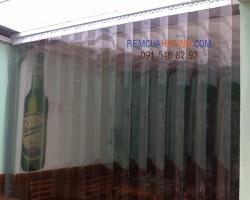 Rèm nhựa PVC ngăn lạnh rèm cửa Hà Tĩnh
