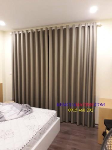 Ri đô vải cửa sổ phòng ngủ gia đình đẹp
